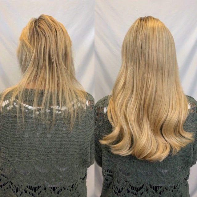 14 in great lengths glo hair extensions denver 2