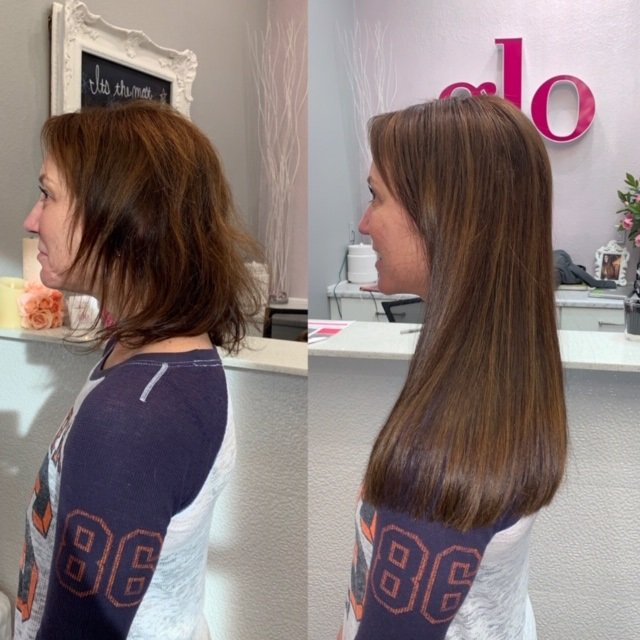 14 in great lengths glo hair extensions denver