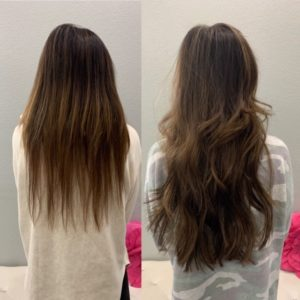 18 in great lengths glo hair extensions denver