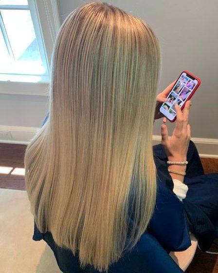 balayage hair color Denver