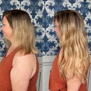 hand tied wefts glo extensions denver