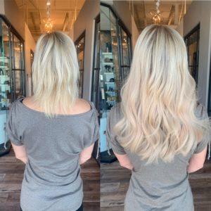 16 in great lengths hair extension denver