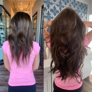 20 in great lengths hair extensions by heather glo salon denver