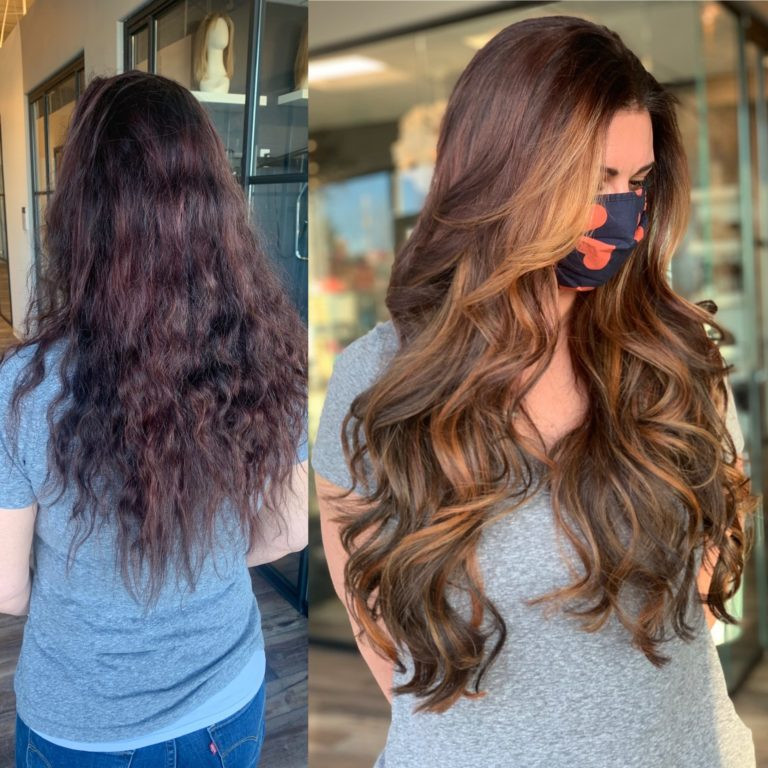 24 in great lengths hair extensions heather glo salon denver