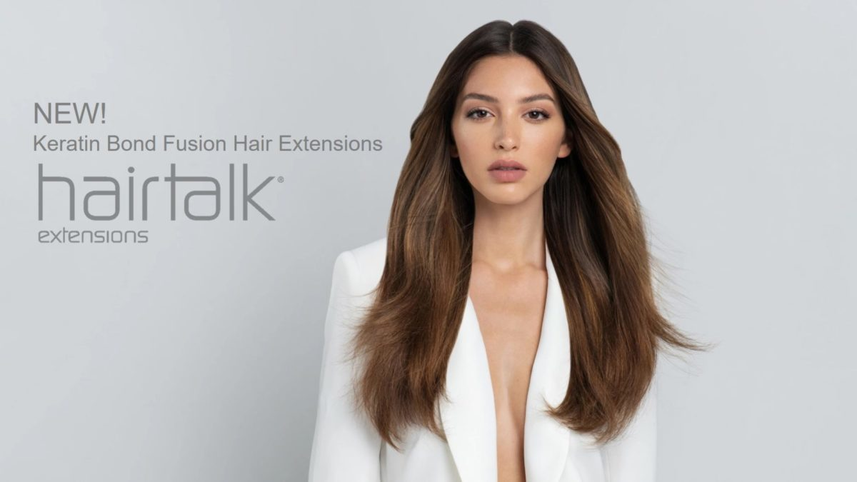 hairtalk keratin bond fusion extensions at Glo Denver