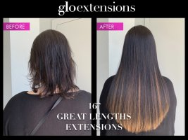 """16"""" Great Lengths Hair Extensions - Glo Extensions Denver"""