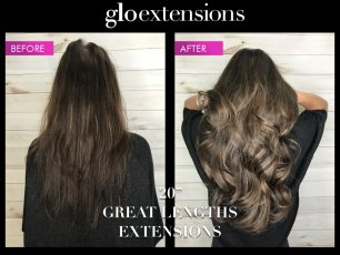 """20"""" Great Lengths Hair Extensions - Glo Extensions Denver"""