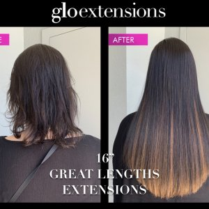 "16"" Great Lengths Hair Extensions - Glo Extensions Denver"