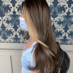 balayage hair color glo-extensions-denver