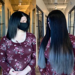 black-to-silver-ombre-with-great-lengths-hair-extensions-by-Glo-Salon
