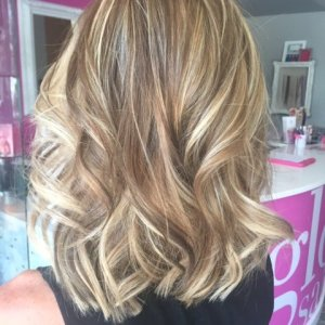 blonde-highlights-and-lowlights glo extensions denver