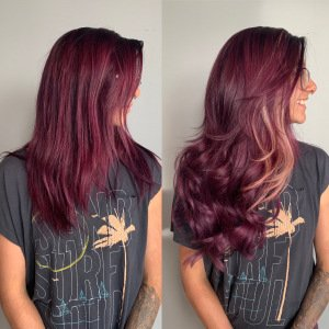 hand-tied-tape-in-weft-extensions-denver-by-Heather-at-Glo-Salon